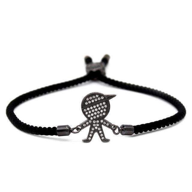 Boy & Girl Stacked Bracelets - Holistic Bear