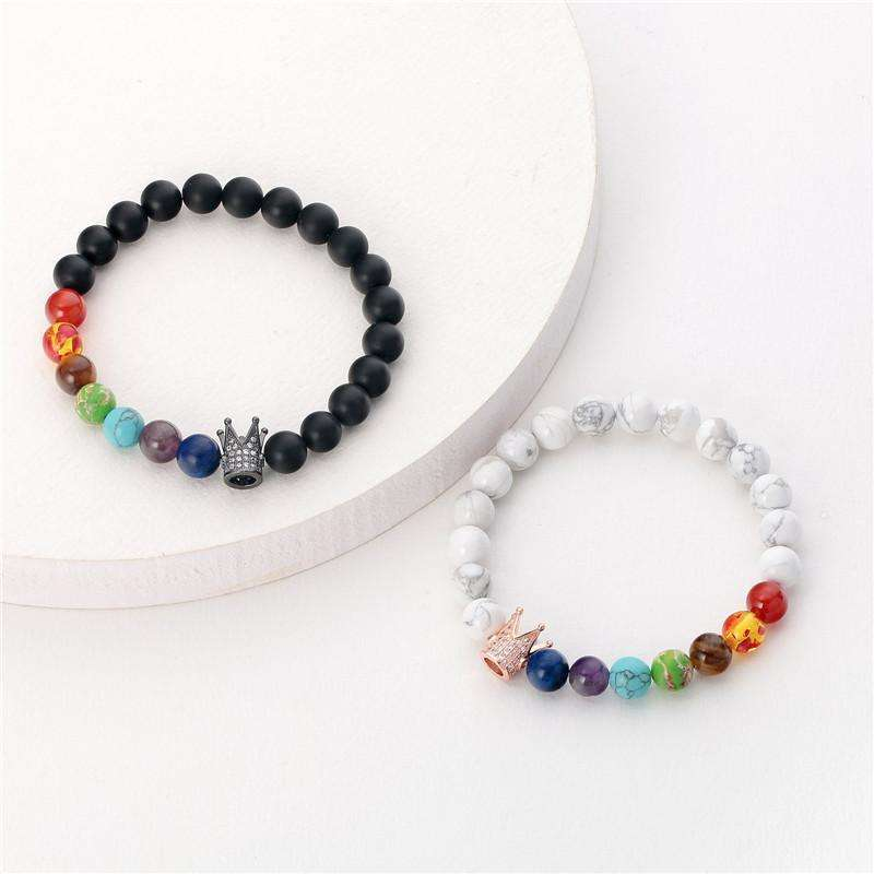 Crown Chakra Bracelets - Holistic Bear
