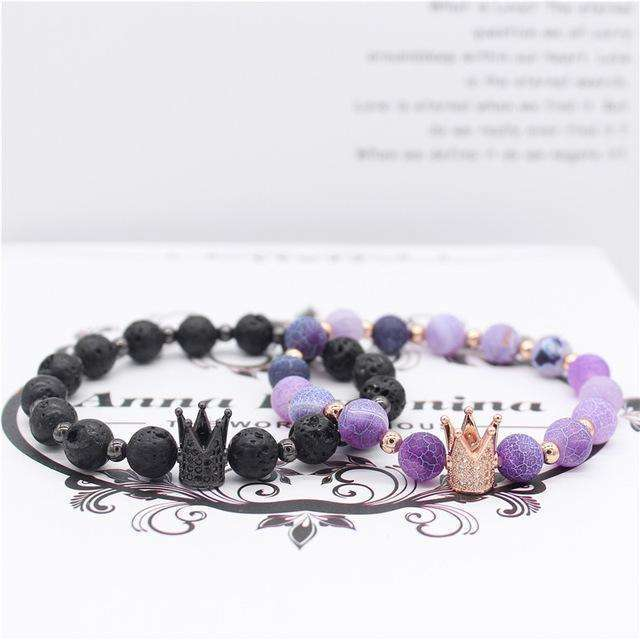 Crown Lover Bracelets (Premium Edition) - Holistic Bear