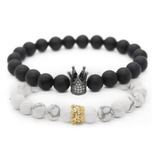 Crown Stacked Bracelet ™ - Holistic Bear