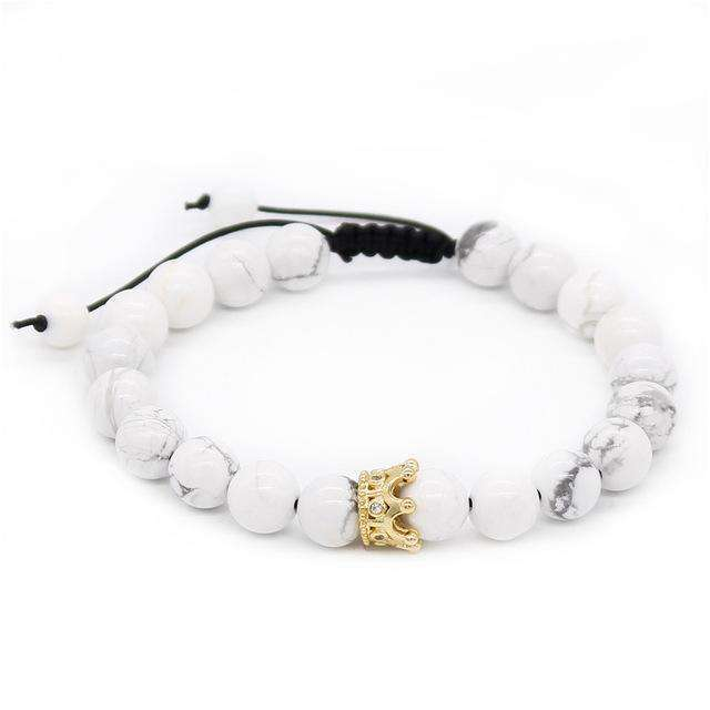 Crown Stacked Bracelets Limited Edition - Holistic Bear