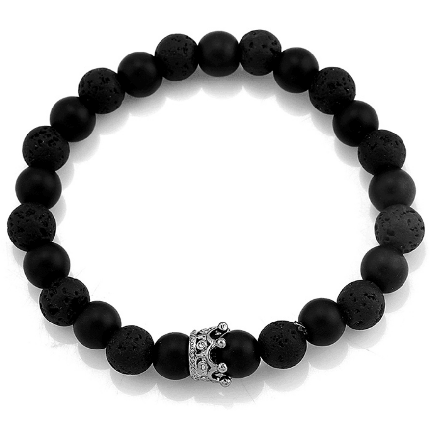 Crown Stacked Bracelets (Sideways) - Holistic Bear