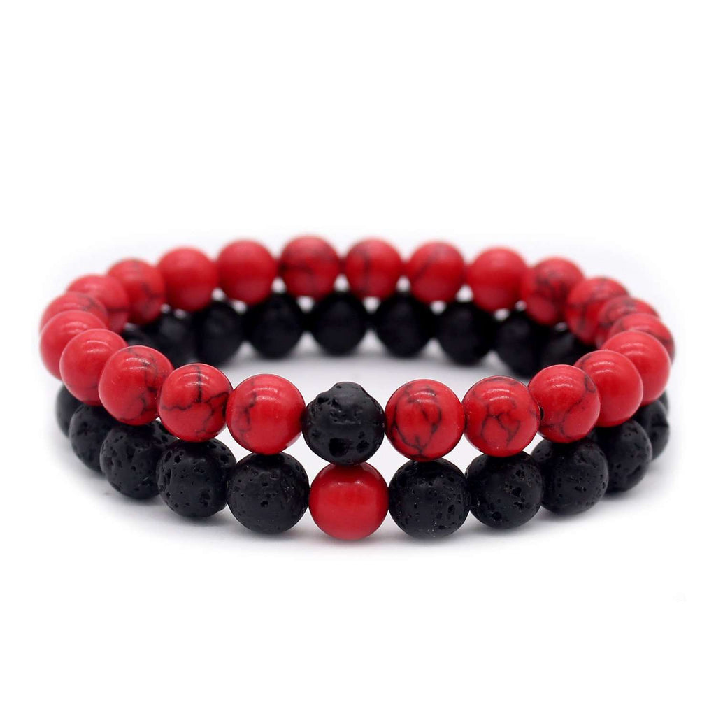 Crystal King & Queen Bracelets - Holistic Bear