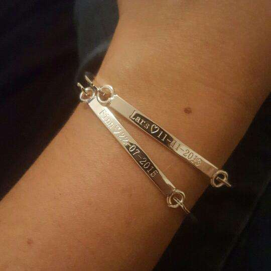 Custom Name Bracelet (Lovers) - Holistic Bear
