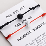 For You & For Me Couple Bracelets - Holistic Bear