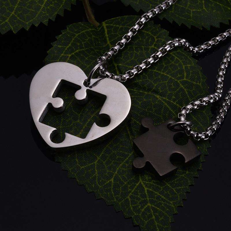 Half Lover Necklaces - Holistic Bear