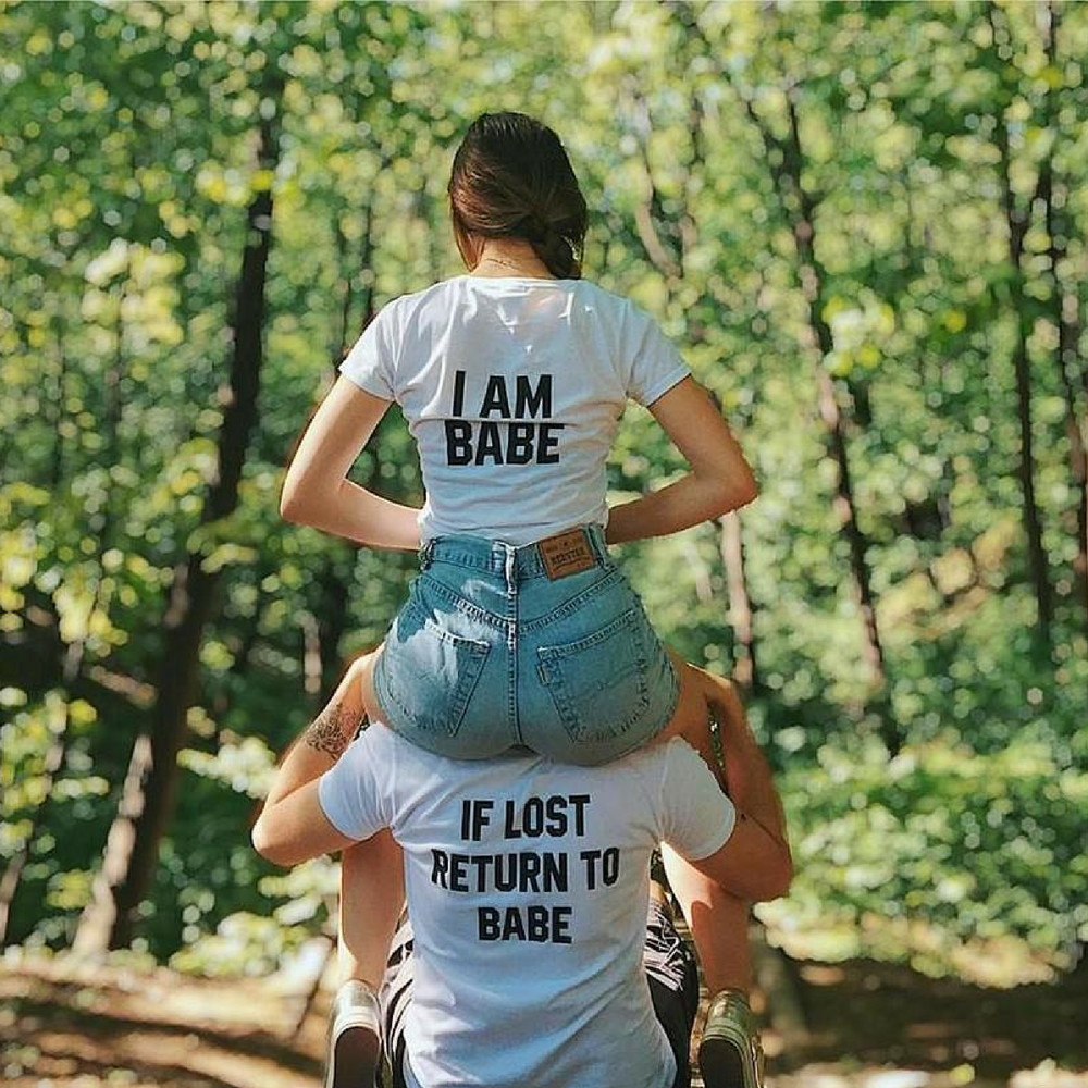 IF Lost Return To Babe Shirts - Holistic Bear