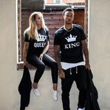 King & Queen Crown T-Shirts