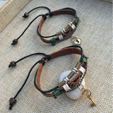 Key Stacked Bracelets - Holistic Bear
