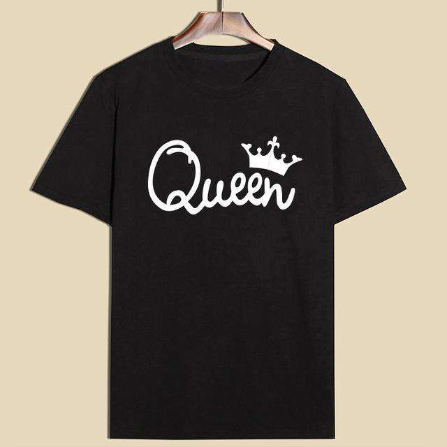 King & Queen Crown T-Shirts - Holistic Bear
