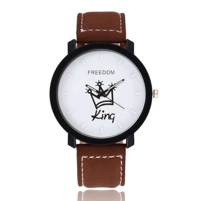 King & Queen Lover Watches - Holistic Bear