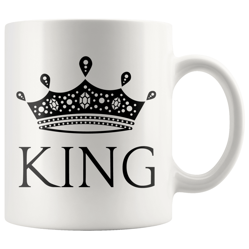 King & Queen Mugs - Holistic Bear