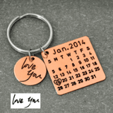 King & Queen Personalized Keychain - Holistic Bear