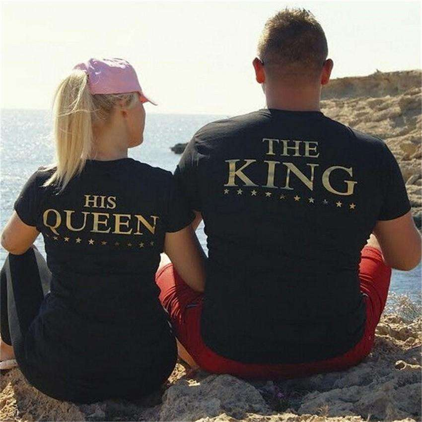 King & Queen Shirts - Holistic Bear