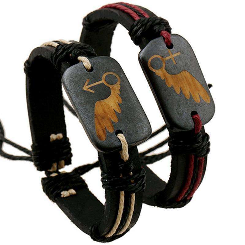 Lover Angel Wing Bracelets - Holistic Bear