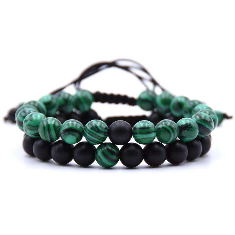 Lucky Stone Couple Bracelets - Holistic Bear