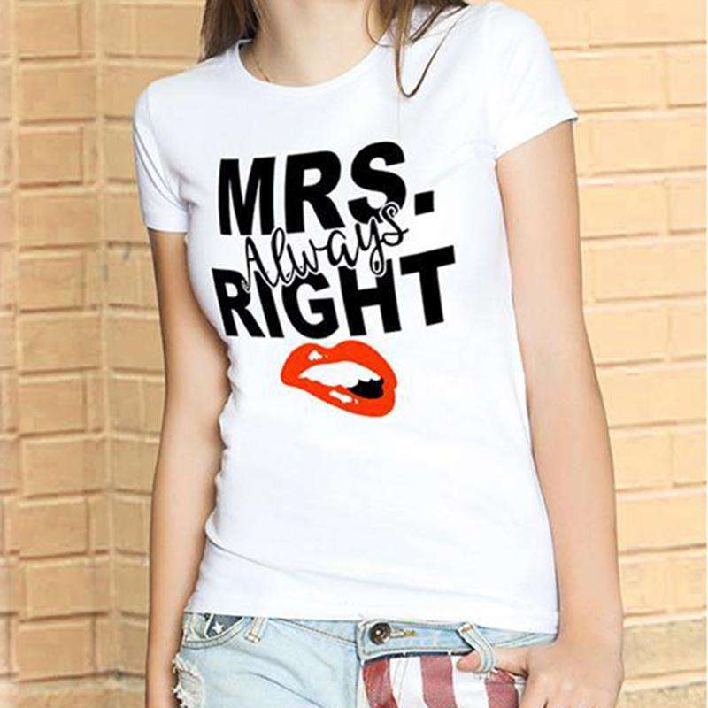 Mr/Mrs Right Couple Shirts - Holistic Bear