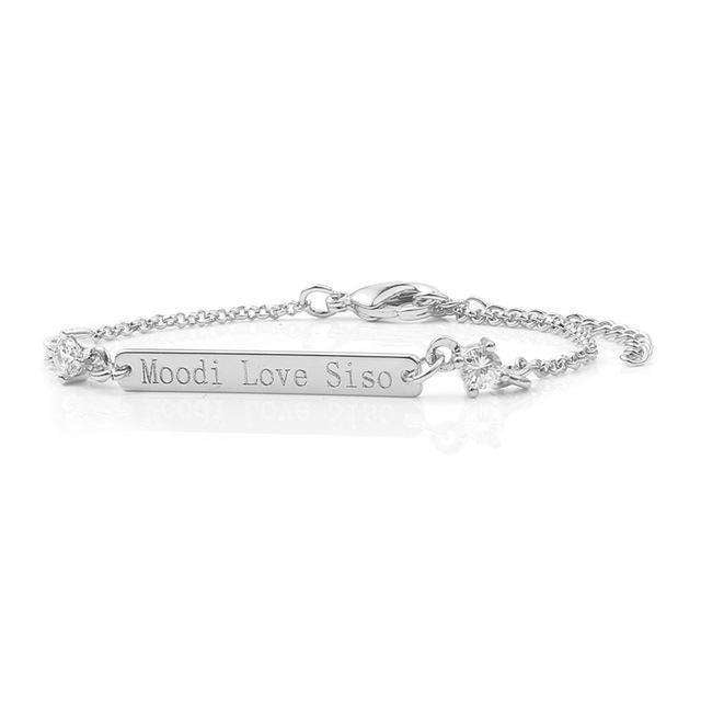 Personalised Bracelet - Holistic Bear