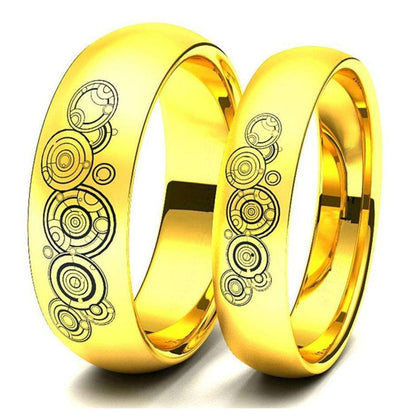 """Positive Couple Rings"" - Holistic Bear"