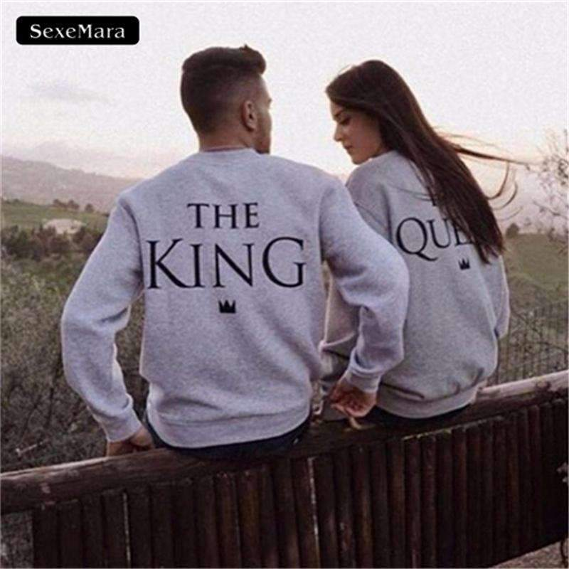 King & Queen Sweatshirt - Holistic Bear