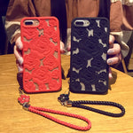 Phone Cases - 3D Hollow Rose Soft Case for iPhone 6/6p/6s/6sp/7/7p/8/8p/X