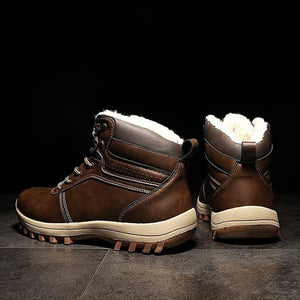 High Quality Leather Waterproof Martin Boots