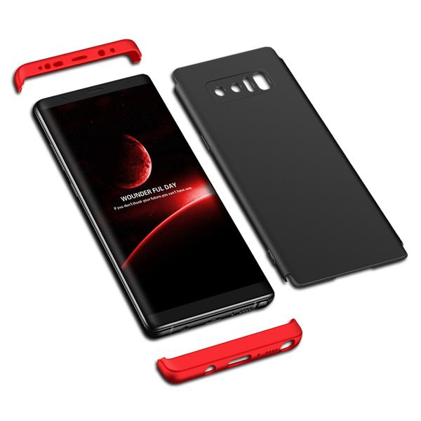 Phone Case - 360° Full Protective Shell Hard PC Armor Back Cover For Samsung Galaxy Note 8