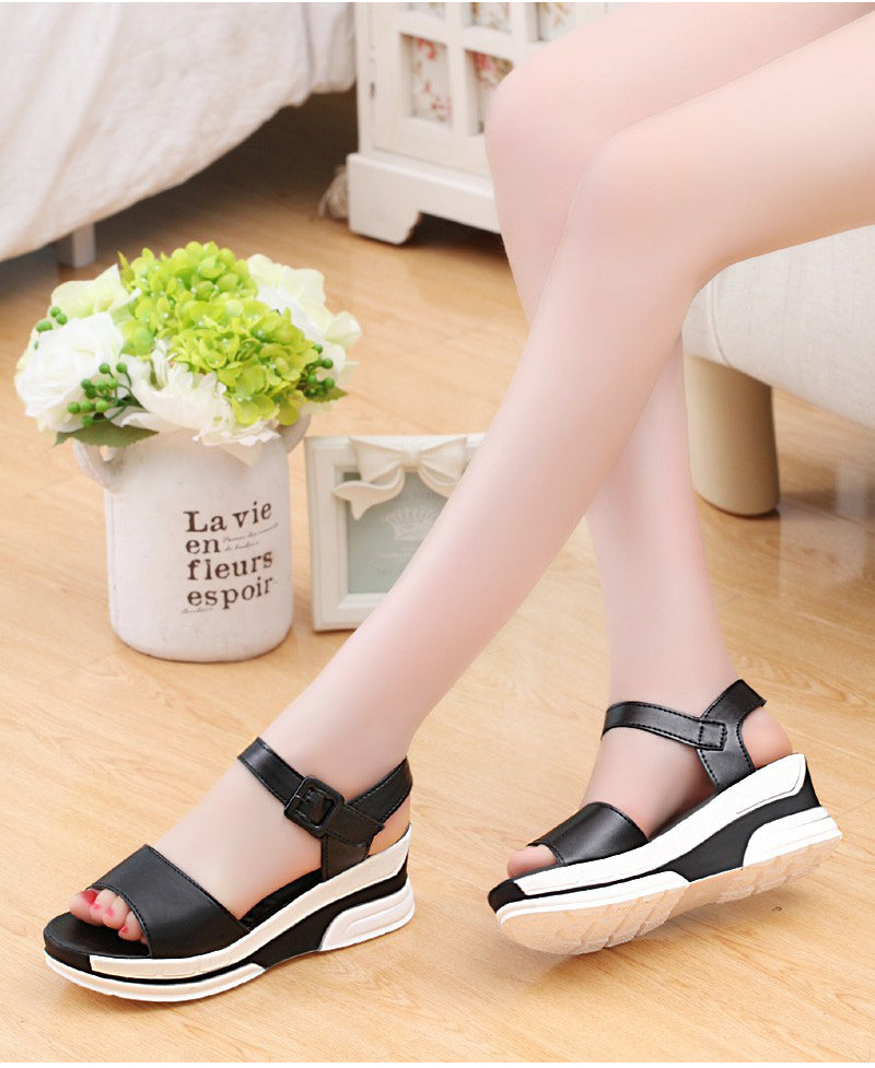 Women Soft Casual Open Toe Sandals