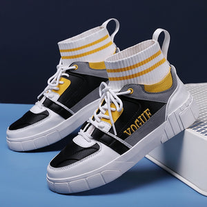 High Ankle Men's Mesh Sock Sports Shoes