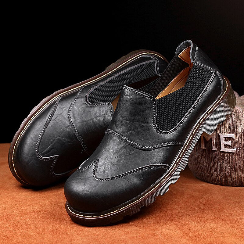 Men Classic Ankle Martin Shoes