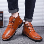 2019 New Vintage Classic Genuine Leather Shoes