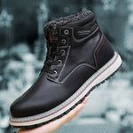 Men's Warm Plush Waterproof Non-slip Snow Boots