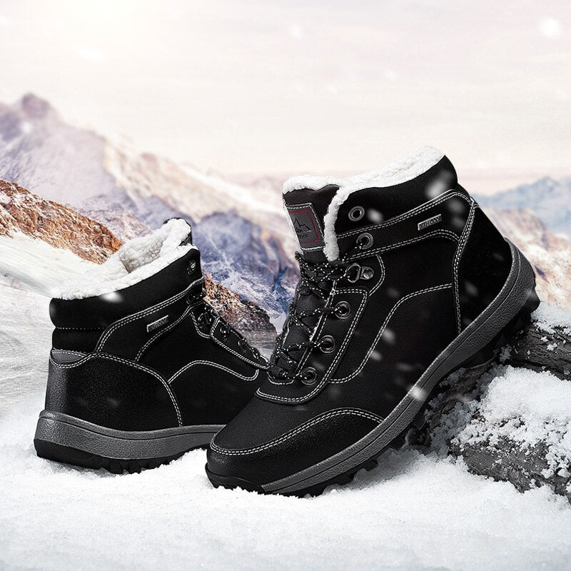 Waterproof Warm Fur Snow Boots