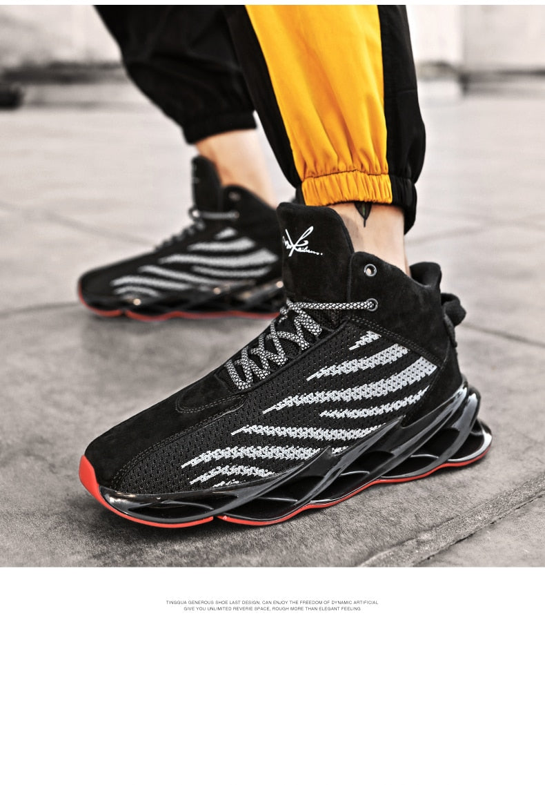 2019 New Blade Fashion Breathable Sneakers