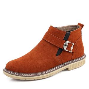 Fashion British Genuine Leather Casual Shoes