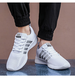 Male Mesh Plus Size Sneakers