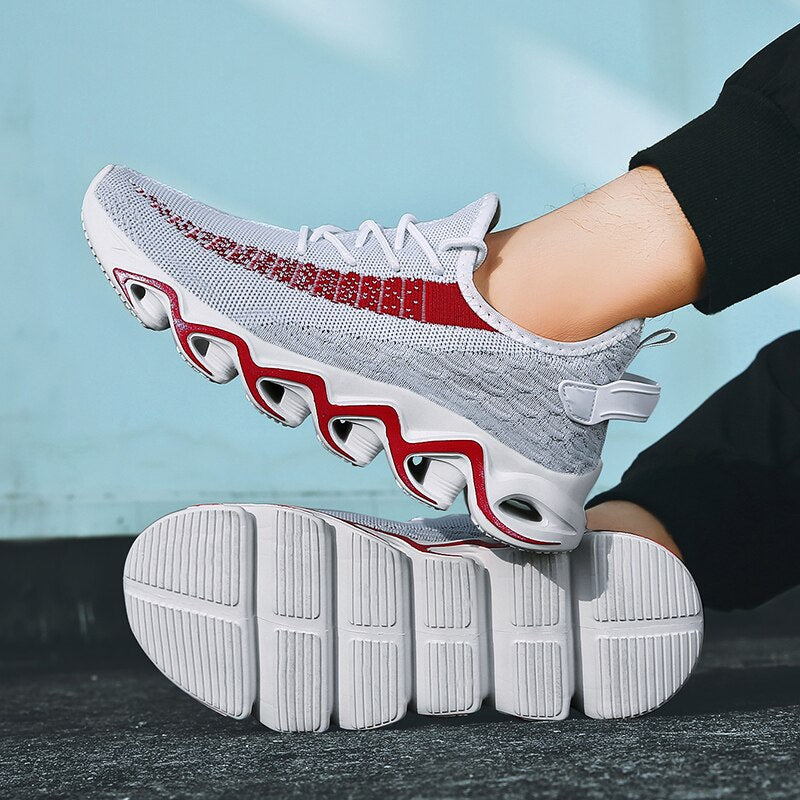 New Lace-up Breathable Fashion Men Shoes
