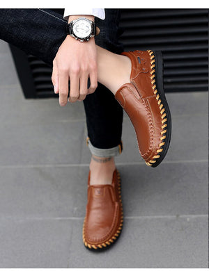 2020 New Fashion Men's Handmade Loafers