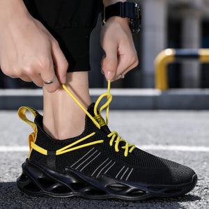 Buckle Blade Sole Sneakers