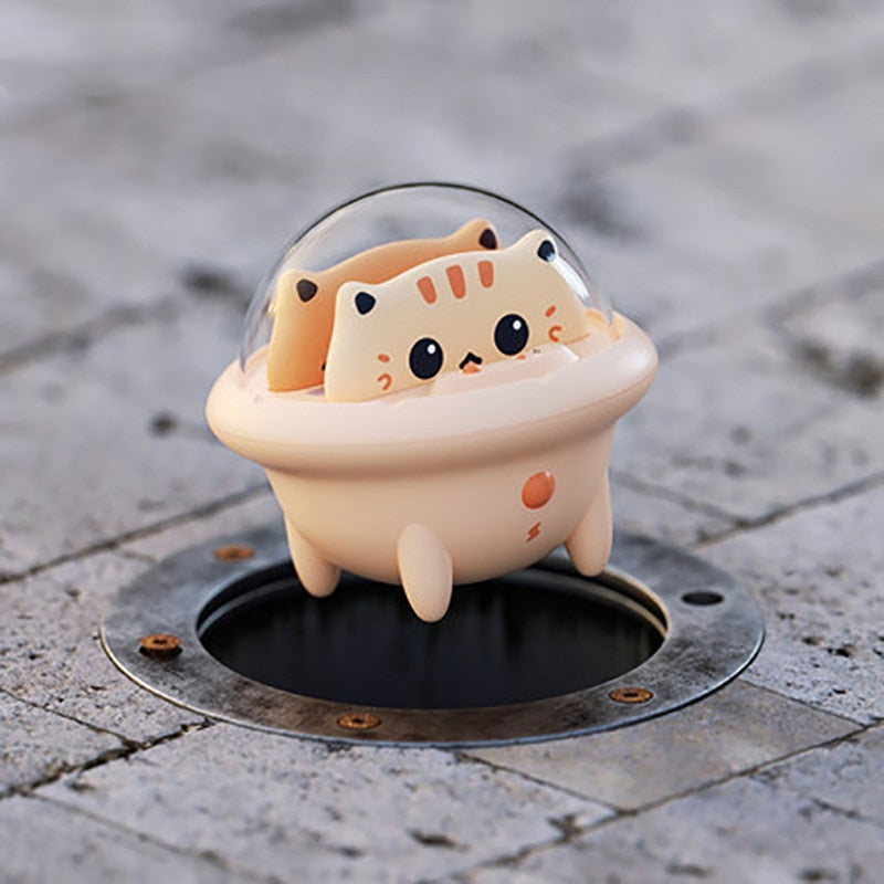 Cute Cat Portable Powerbank With LED Light