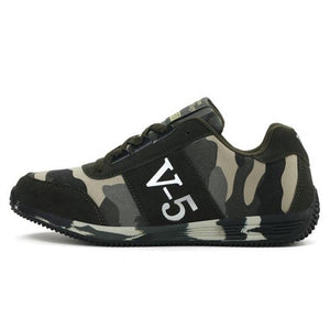 Unisex Canvas Camouflage Military Running Shoes