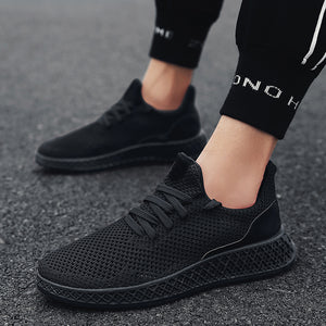 Men Mesh Breathable Lightweight Sneakers