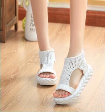 Women's Comfortable Casual Wool Summer Sandals