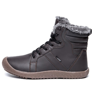 Waterproof Warm Fur Casual Boots For Men