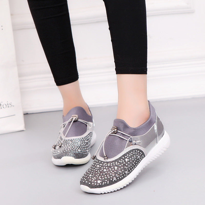 Lady Platform Crystal Shoes