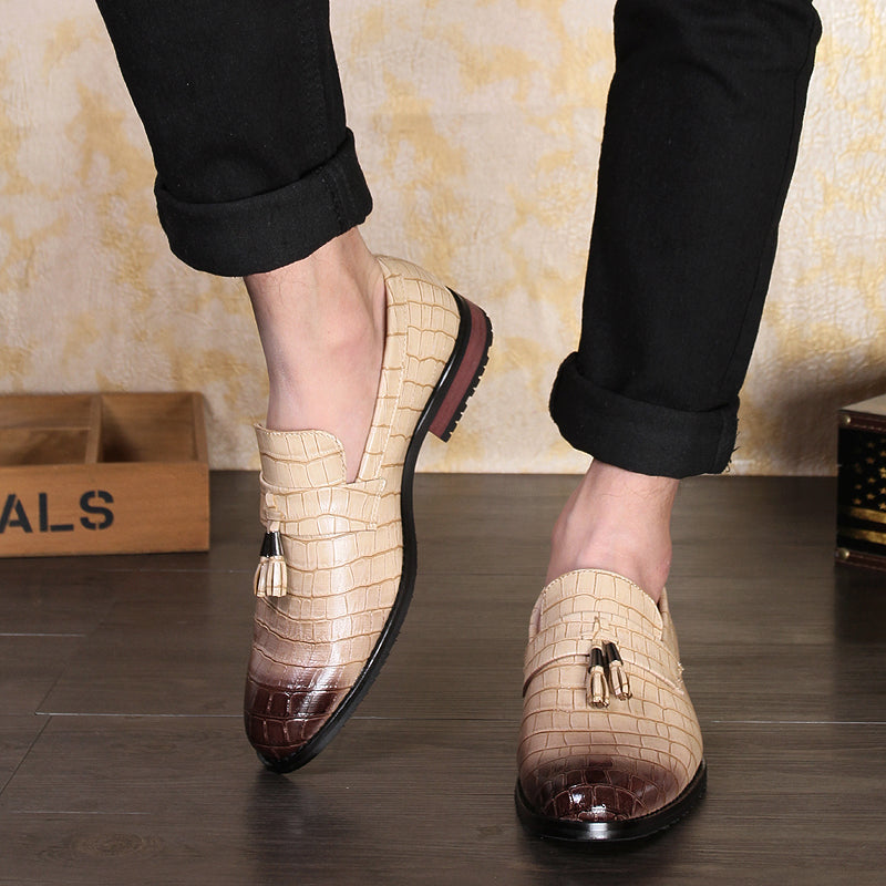 New Fashion Tassel Men Moccasins Shoes