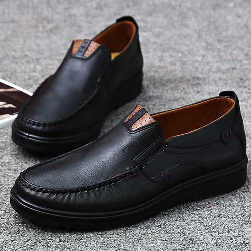 Men Casual Breathable Lightweight Slip-On Loafers