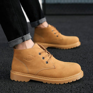 2018 New Men Winter Boots