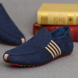 2019 New Spring Men Suede Leather Loafers