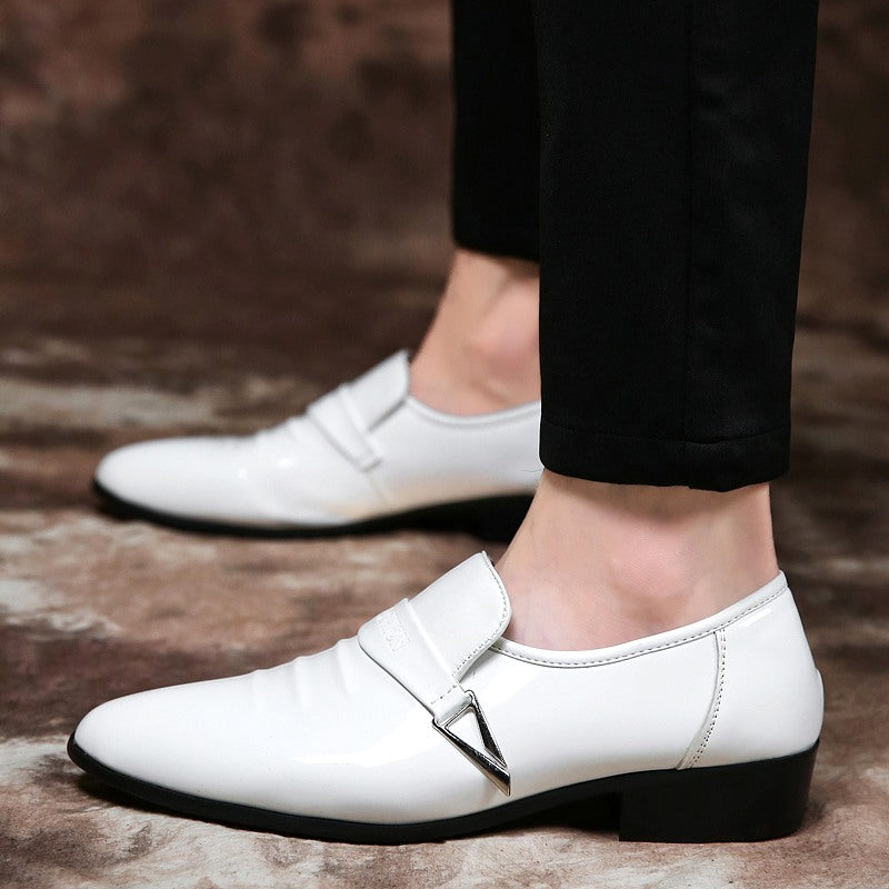 Luxury Brand Mens Leather Formal Shoes